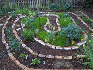 Spiral Garden with walkway